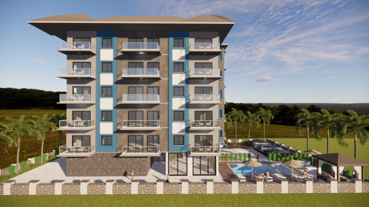 Апартаменты в новом комплексе в Авсалларе - Фото 2