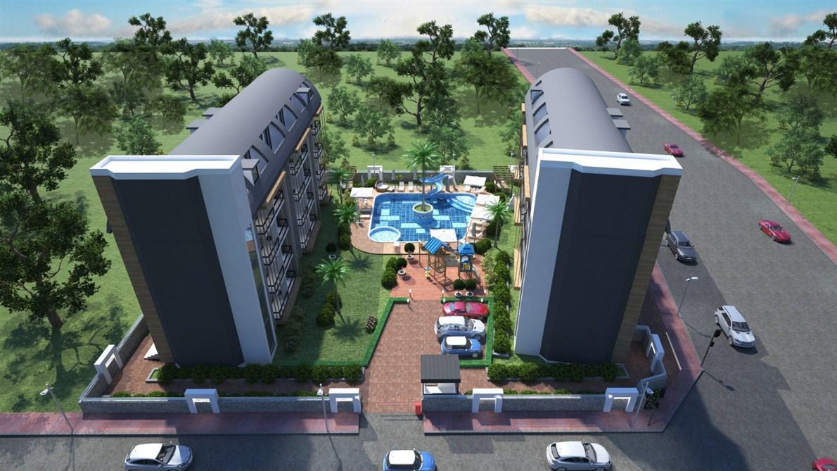 Апартаменты 1+1 и 3+1 в Оба - Фото 2