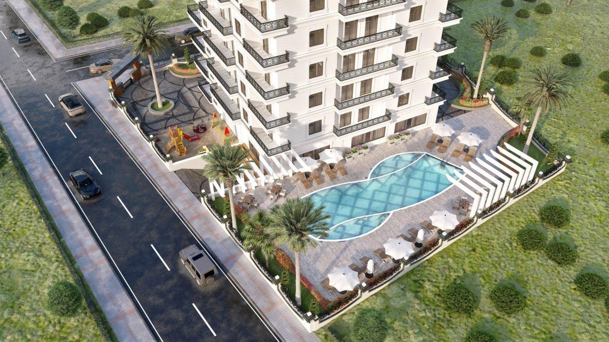 Апартаменты в новом ЖК в Махмутларе в 800 метрах от пляжа - Фото 4