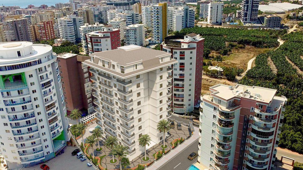 Апартаменты в новом ЖК в Махмутларе в 800 метрах от пляжа - Фото 3
