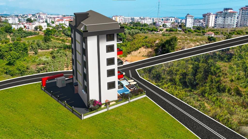 Инвестиционные апартаменты 1+1 в Авсаллар - Фото 11