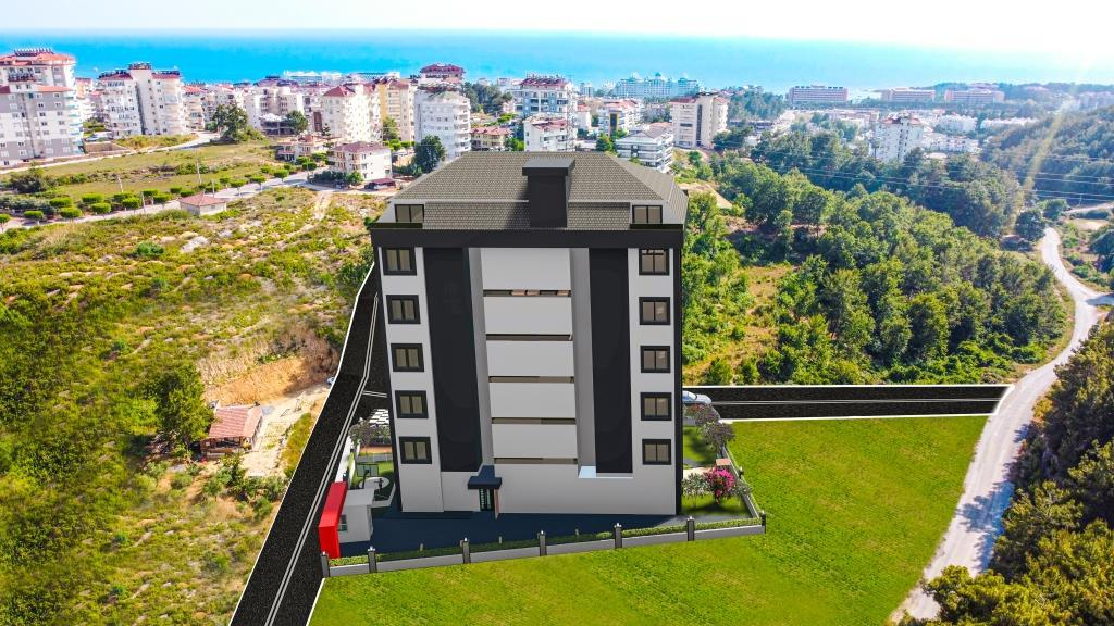 Инвестиционные апартаменты 1+1 в Авсаллар - Фото 12