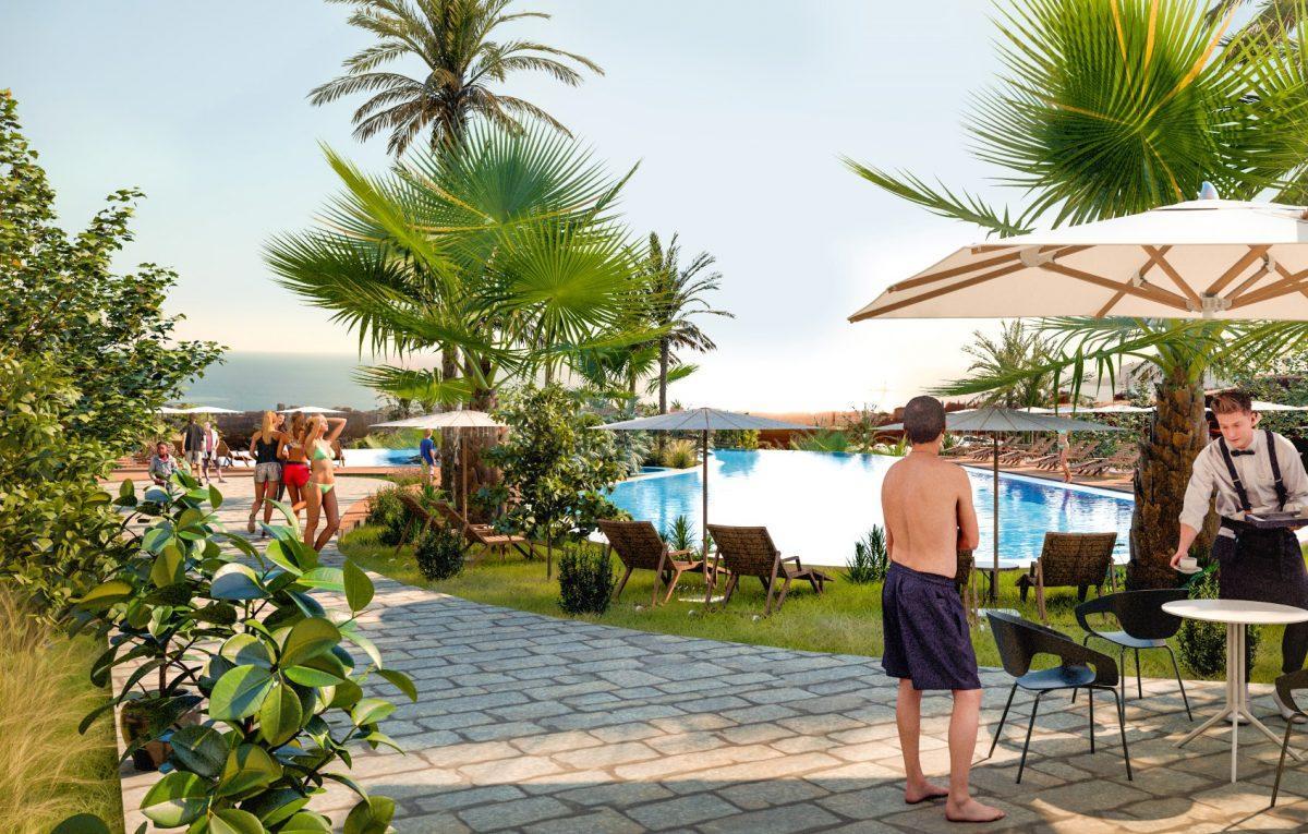 Квартиры в роскошном ЖК с собственным пляжем в Махмутларе - Фото 20
