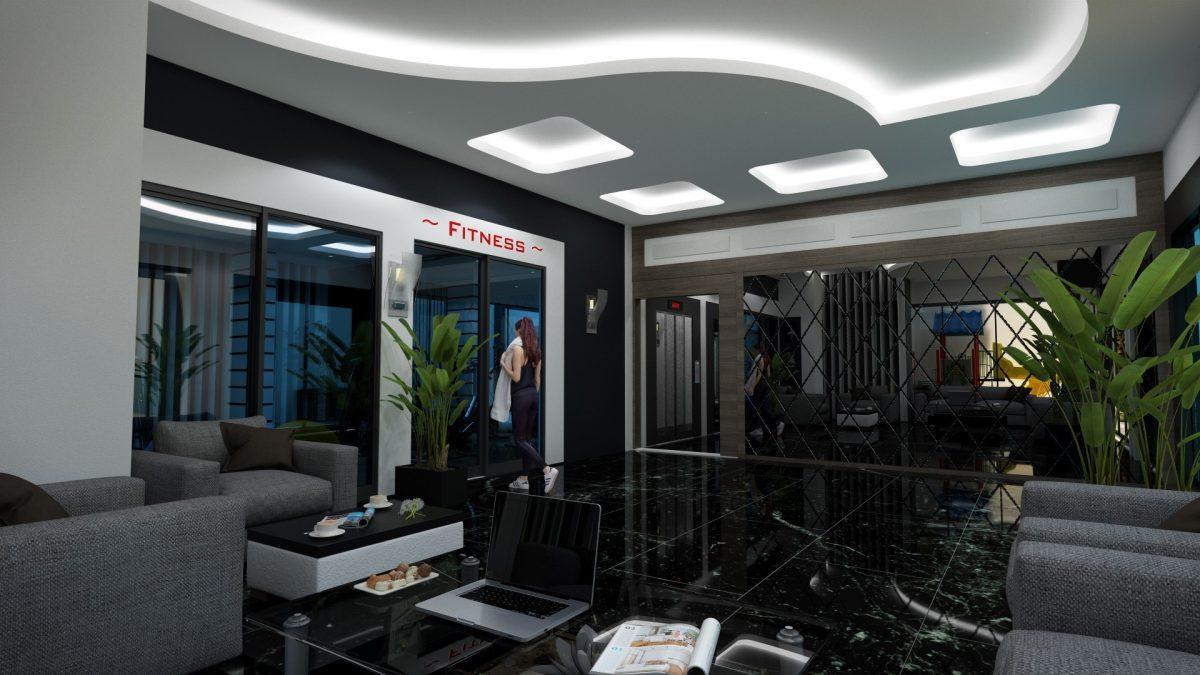 Инвестиционные двухуровневые пентхаусы  3+1 в Махмутлар - Фото 20