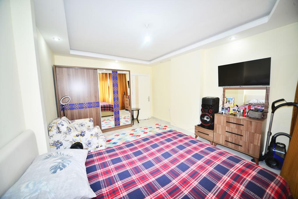 Меблированная квартира 2+1 с видом на горы и природу в Махмутларе - Фото 20
