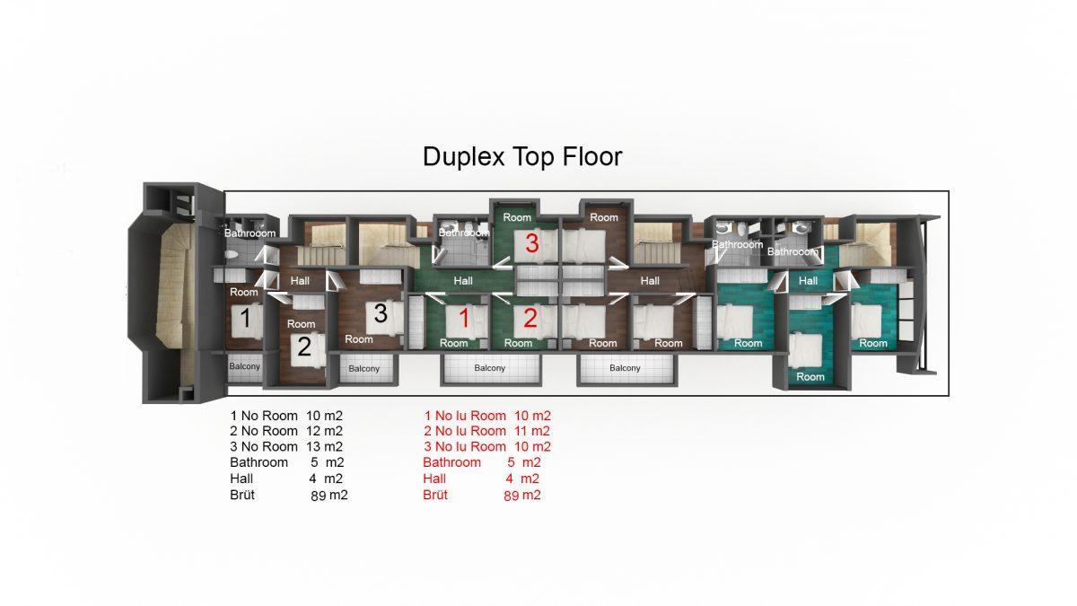 Апартаменты 1+1 и 3+1 в Оба - Фото 30