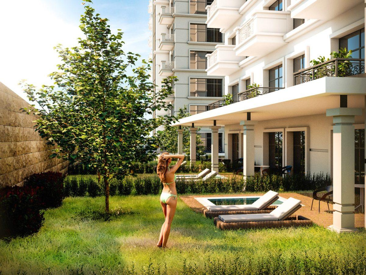 Квартиры в роскошном ЖК с собственным пляжем в Махмутларе - Фото 21