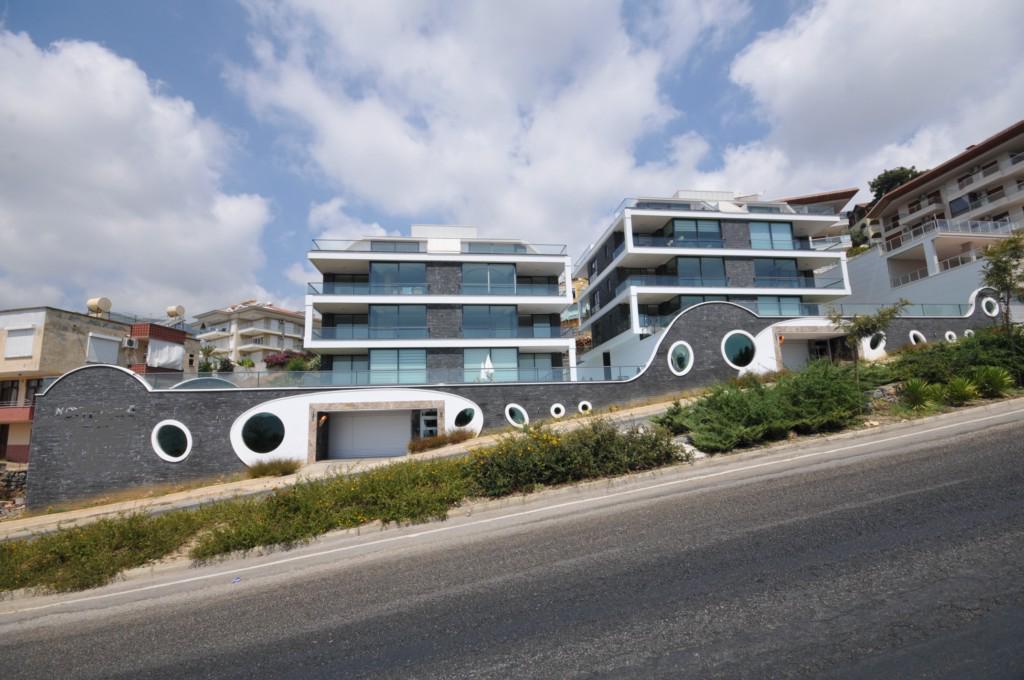 Апартаменты 2+1 с панорамным видом на Аланию - Фото 2