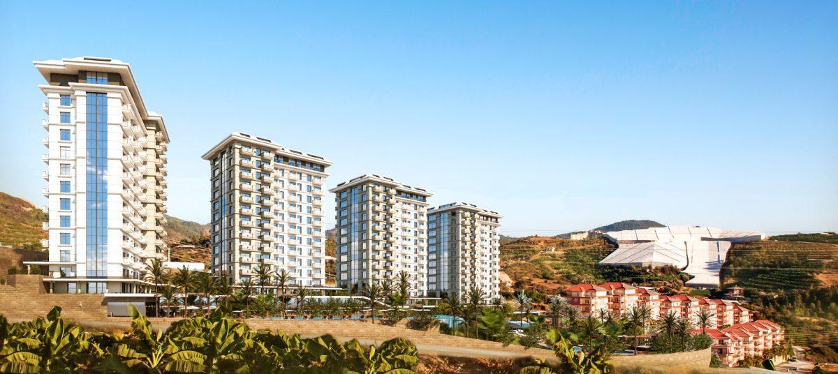 Квартиры в роскошном ЖК с собственным пляжем в Махмутларе - Фото 23