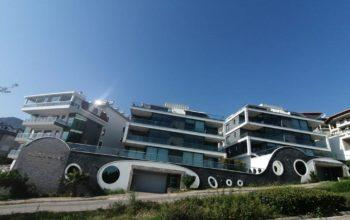 Апартаменты 2+1 с панорамным видом на Аланию