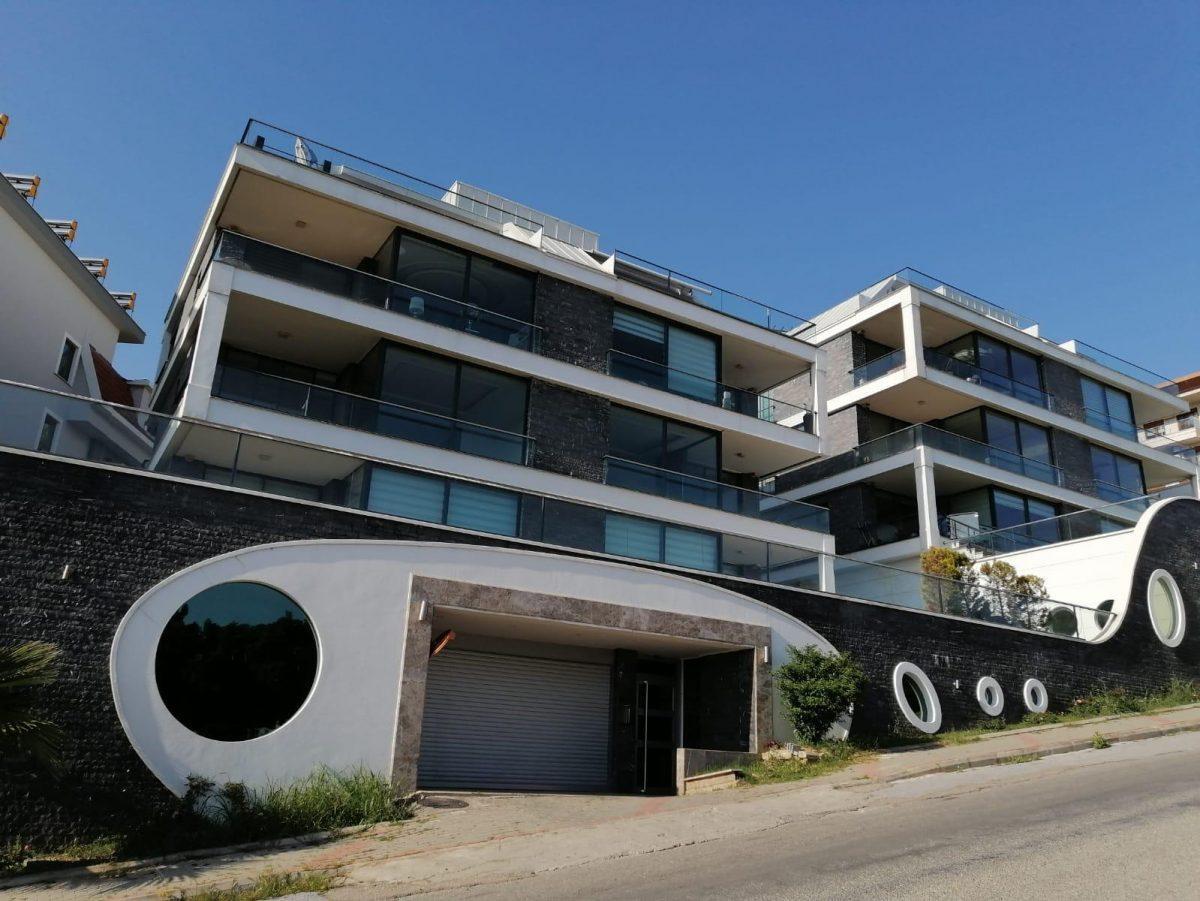 Апартаменты 2+1 с панорамным видом на Аланию - Фото 5
