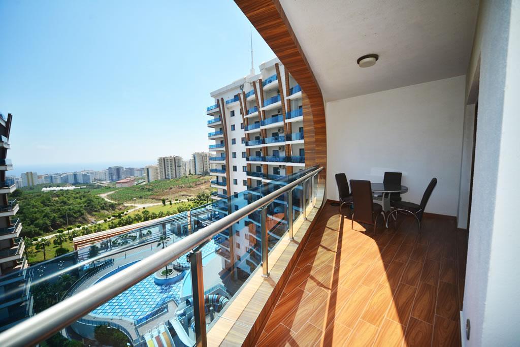 Люксовые апартаменты 3+1 в зелёном и тихом районе Махмутлара - Фото 21