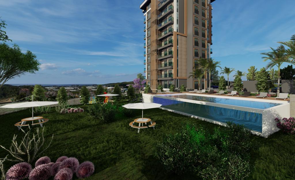 Квартиры с панорамным видом в Авсалларе - Фото 6