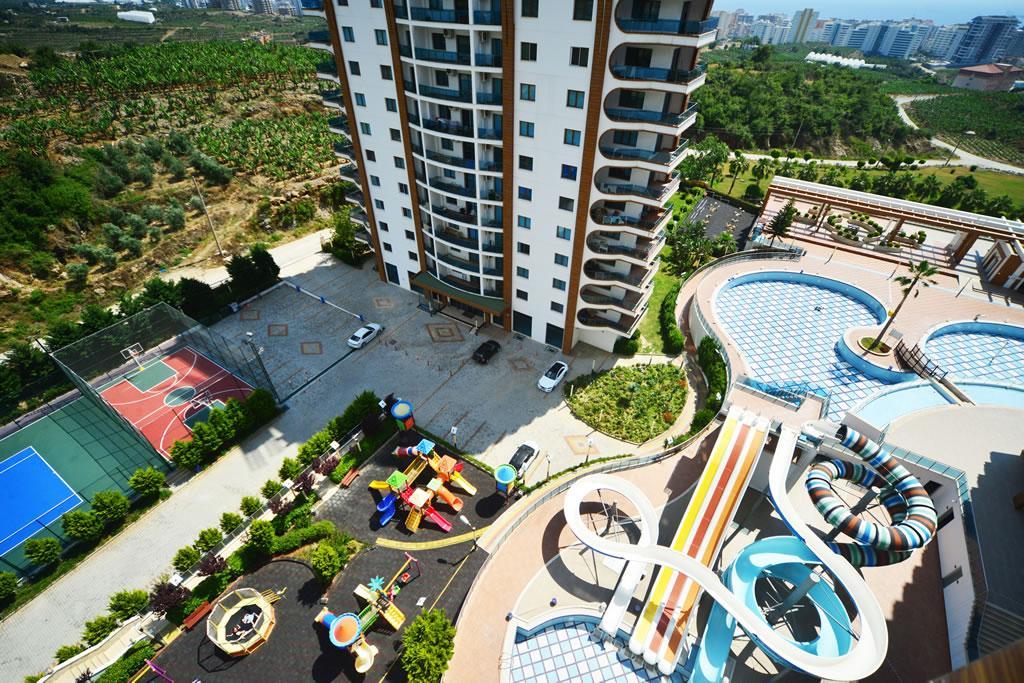 Люксовые апартаменты 3+1 в зелёном и тихом районе Махмутлара - Фото 23