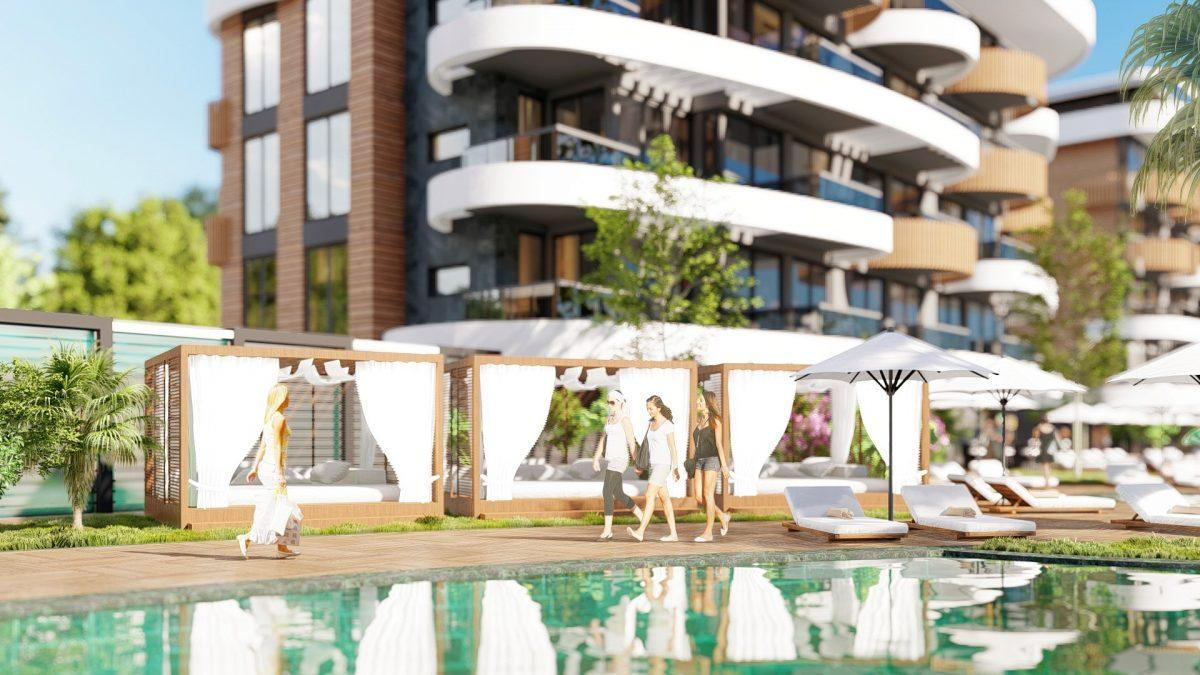 Новые апартаменты в люксовом комплексе в Кестеле - Фото 14