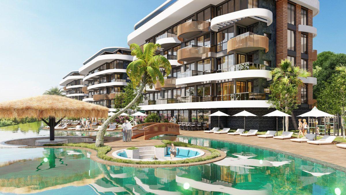 Новые апартаменты в люксовом комплексе в Кестеле - Фото 13