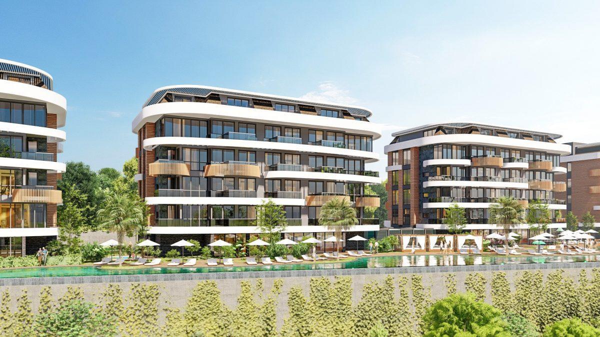 Новые апартаменты в люксовом комплексе в Кестеле - Фото 11