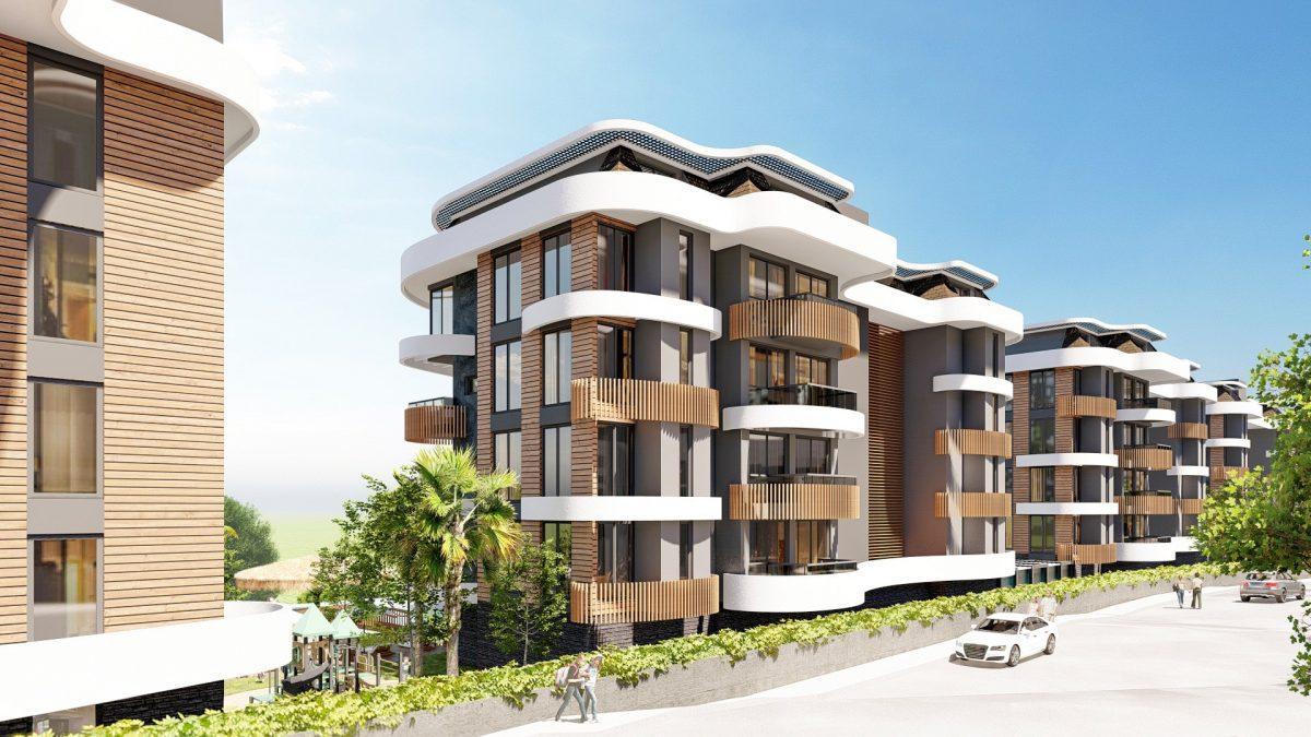 Новые апартаменты в люксовом комплексе в Кестеле - Фото 9