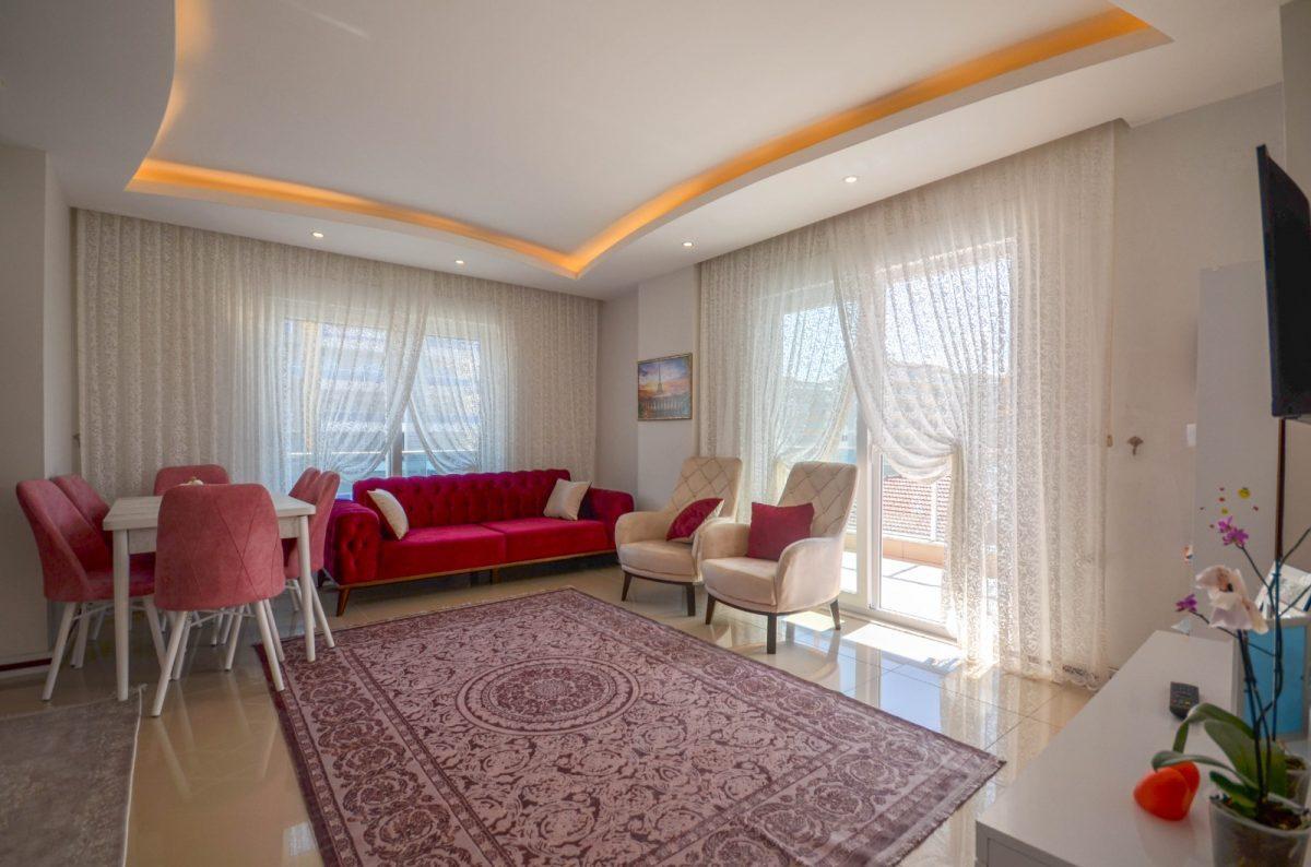 Просторная квартира с мебелью и техникой в Махмутларе - Фото 8