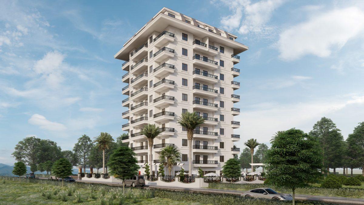 Апартаменты в новом ЖК в Махмутларе в 800 метрах от пляжа - Фото 5