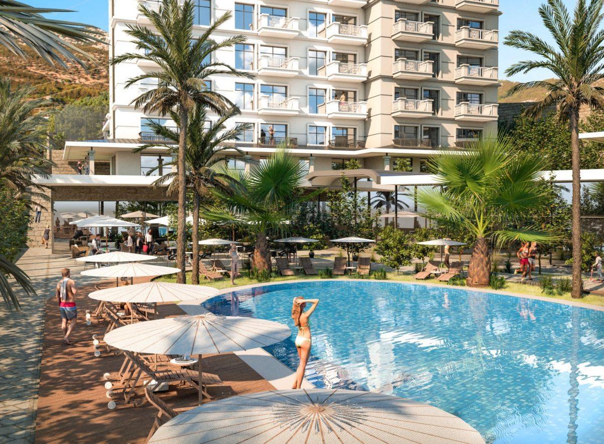 Квартиры в роскошном ЖК с собственным пляжем в Махмутларе - Фото 3