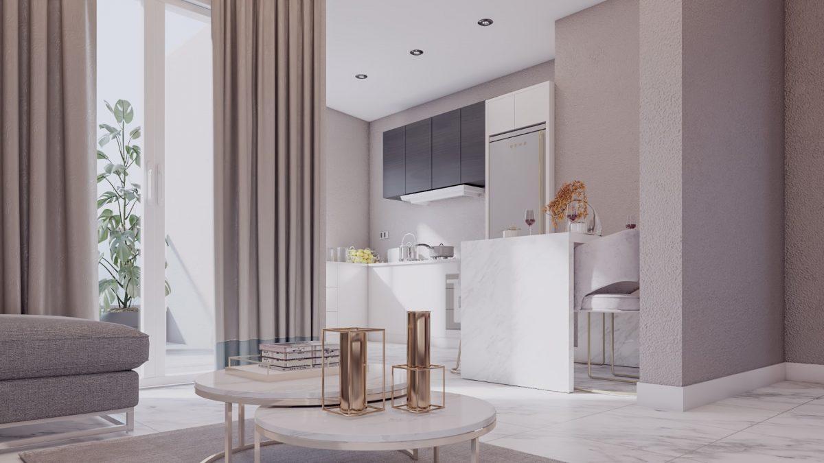 Апартаменты в новом комплексе в центре Махмутлара - Фото 12