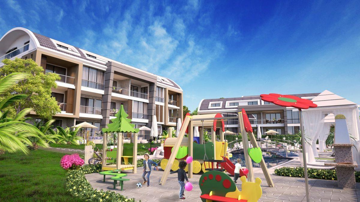 Апартаменты премиального класса  с панорамным видом в центре Алании - Фото 3