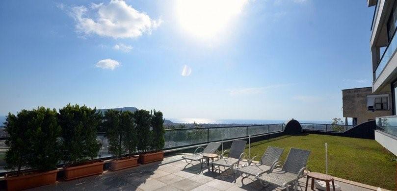 Апартаменты 2+1 с панорамным видом на Аланию - Фото 8