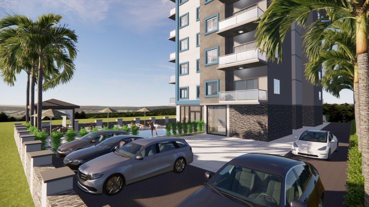 Апартаменты в новом комплексе в Авсалларе - Фото 3