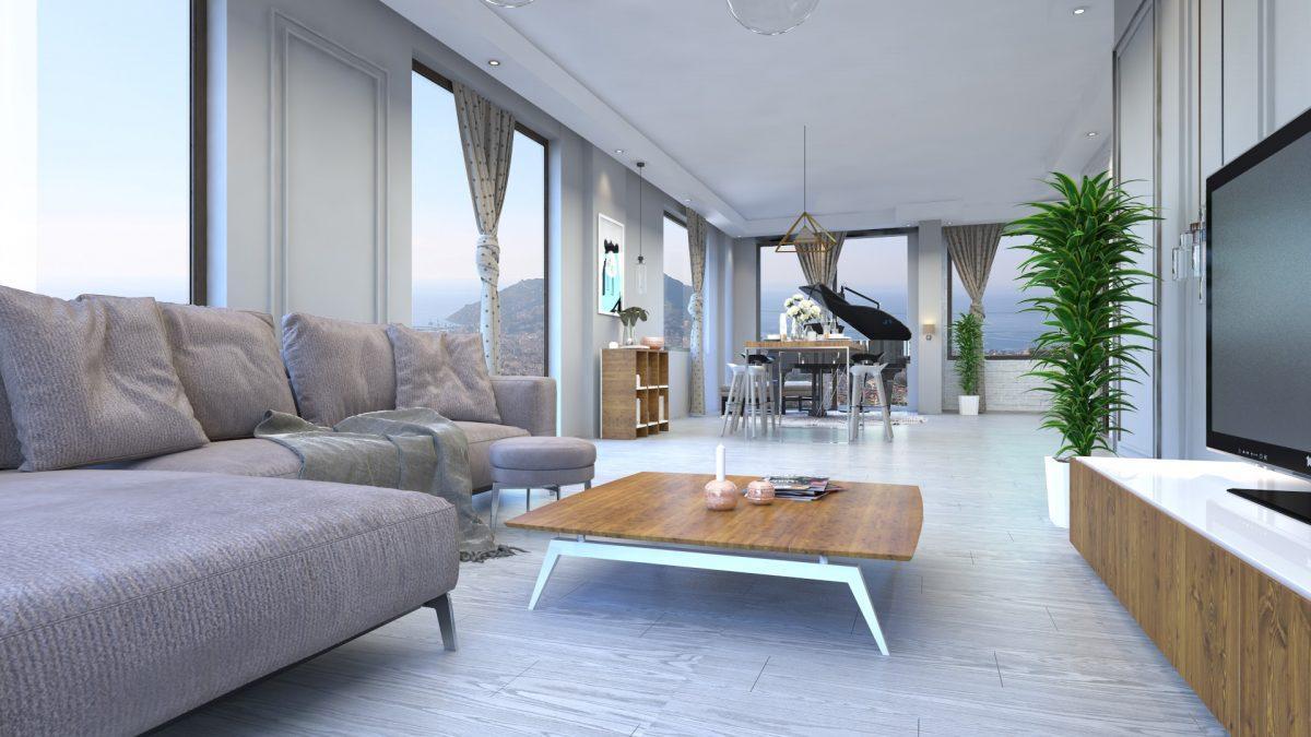 Апартаменты премиального класса  с панорамным видом в центре Алании - Фото 11