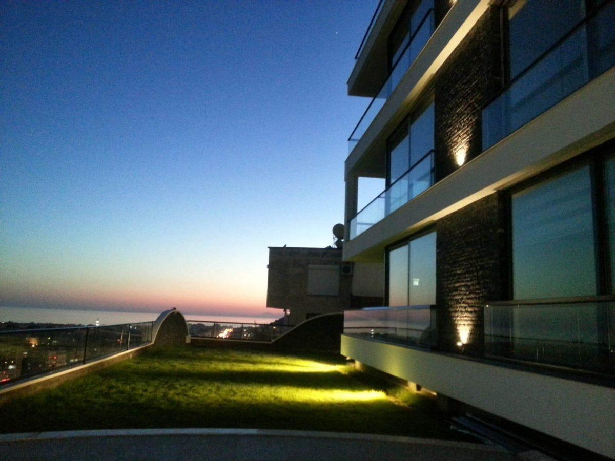Апартаменты 2+1 с панорамным видом на Аланию - Фото 9