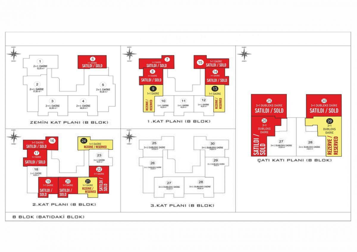 Новые апартаменты в центральном районе Аланьи - Фото 43