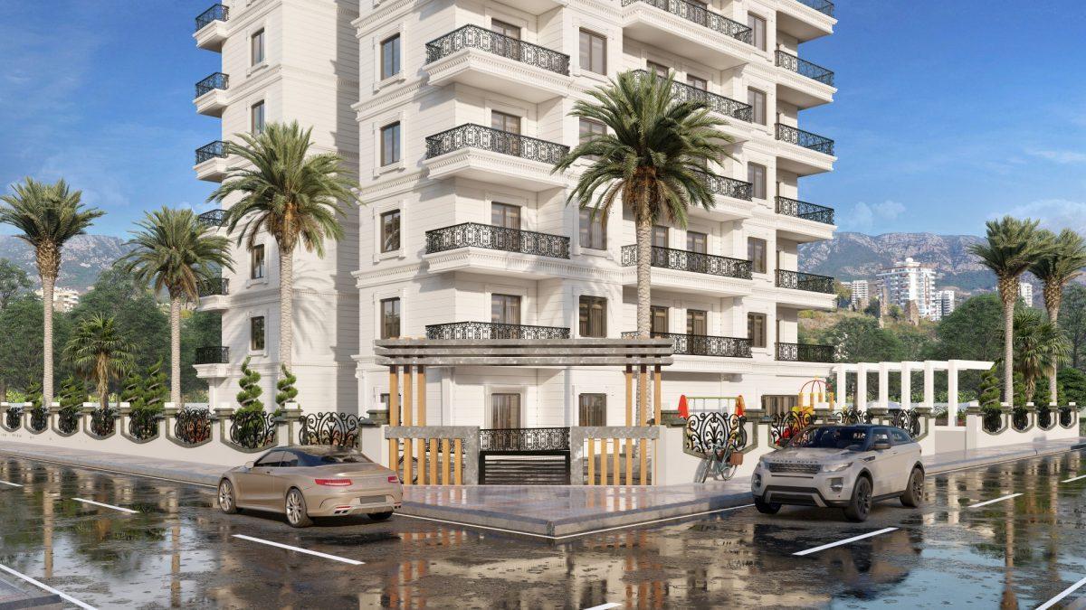 Апартаменты в новом ЖК в Махмутларе в 800 метрах от пляжа - Фото 6