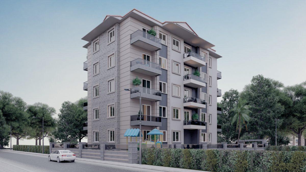 Апартаменты в новом комплексе в центре Махмутлара - Фото 4