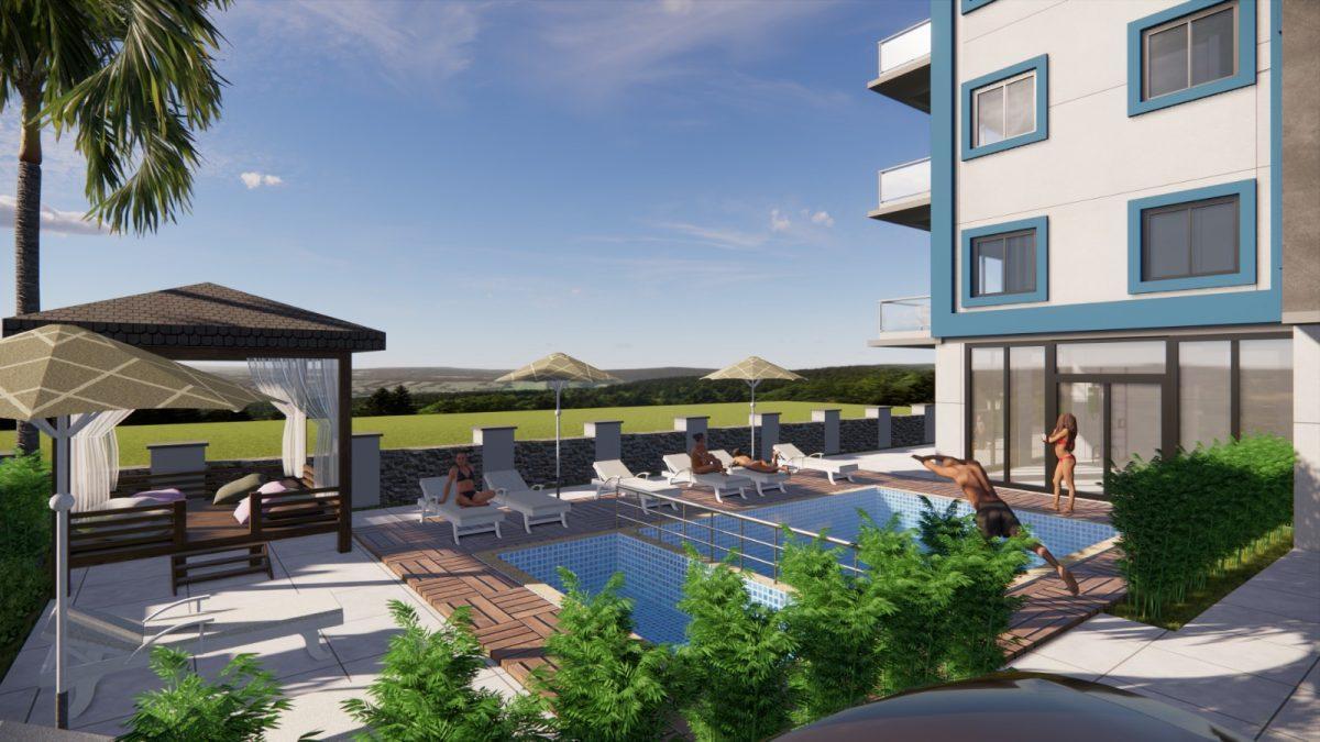 Апартаменты в новом комплексе в Авсалларе - Фото 4