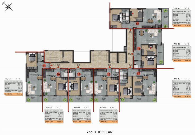 Апартаменты премиального класса в Авсаларе - Фото 43