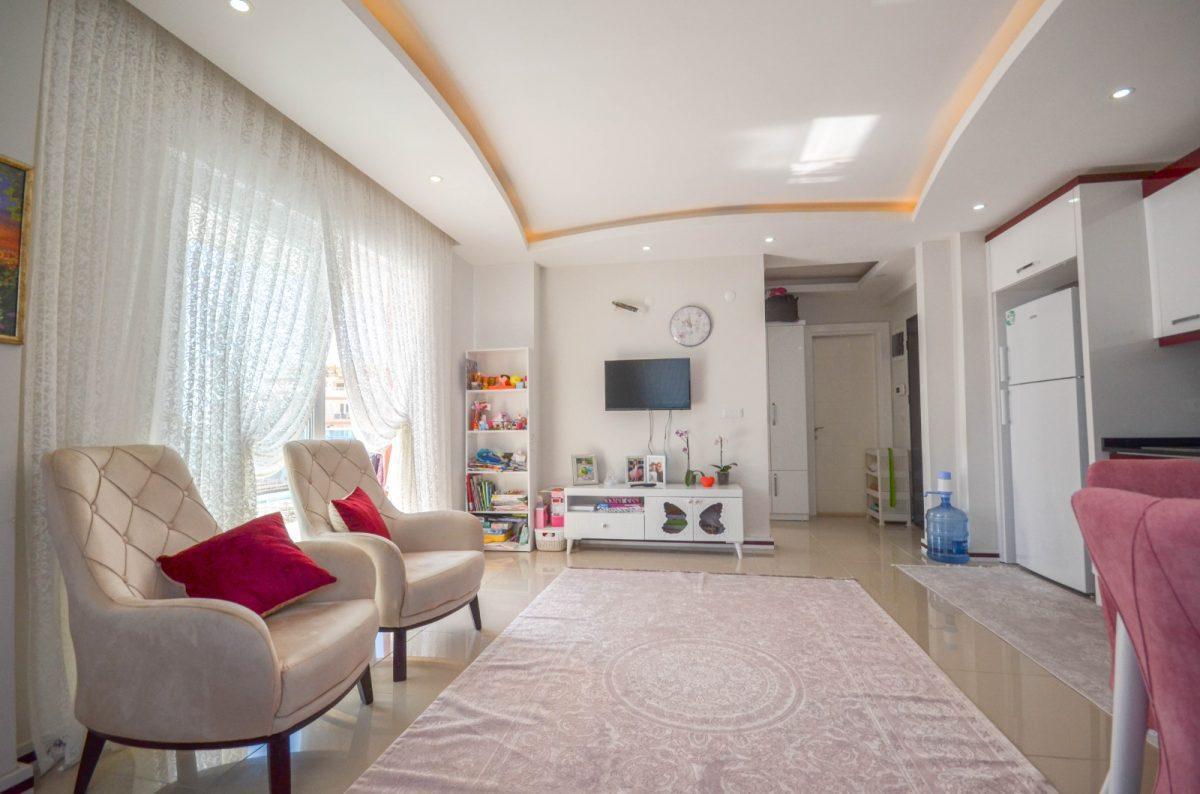 Просторная квартира с мебелью и техникой в Махмутларе - Фото 9
