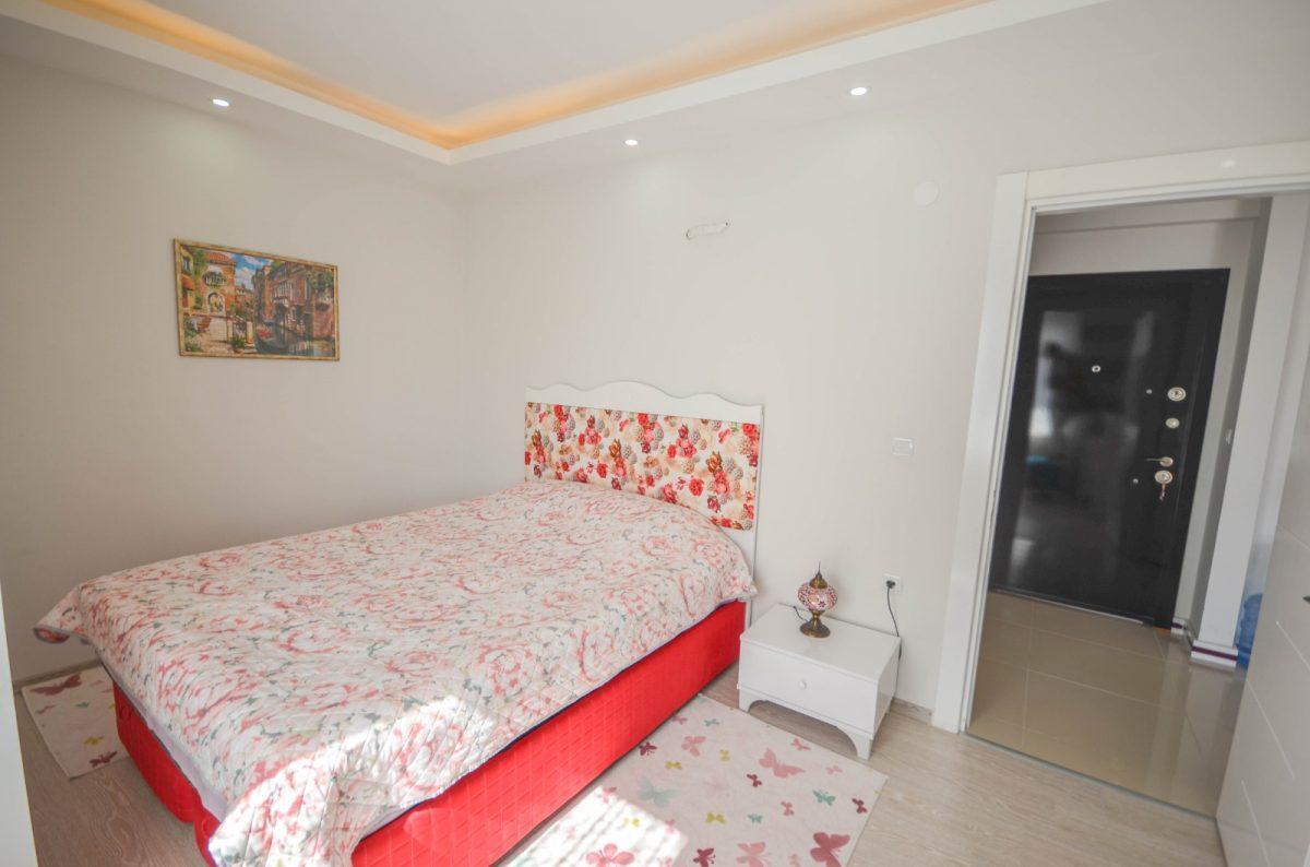 Просторная квартира с мебелью и техникой в Махмутларе - Фото 11