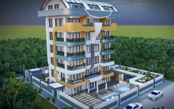 Апартаменты в новом ЖК в центре Кестеля