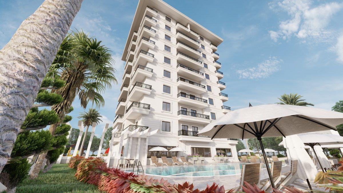 Апартаменты в новом ЖК в Махмутларе в 800 метрах от пляжа - Фото 7