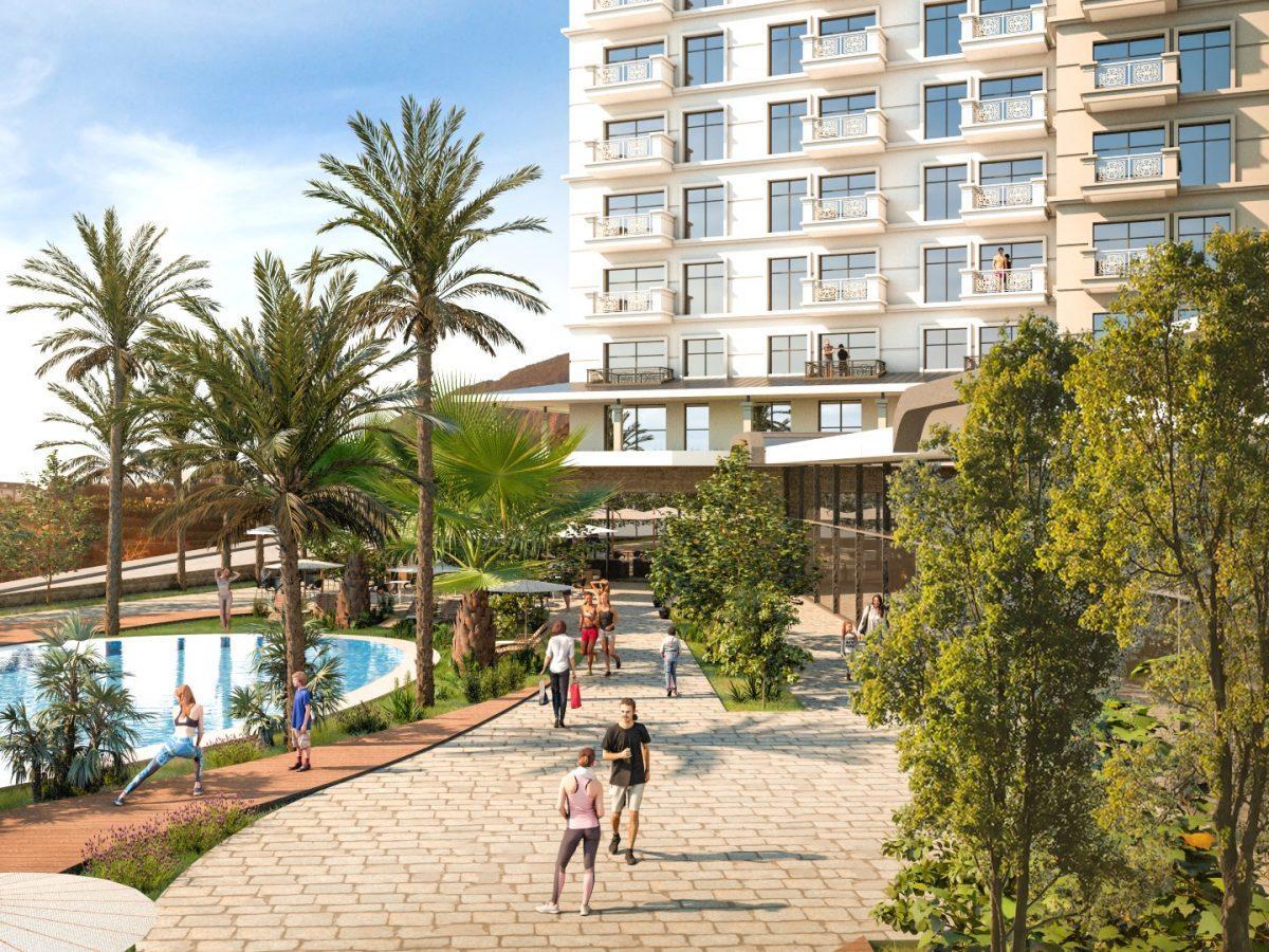 Квартиры в роскошном ЖК с собственным пляжем в Махмутларе - Фото 5