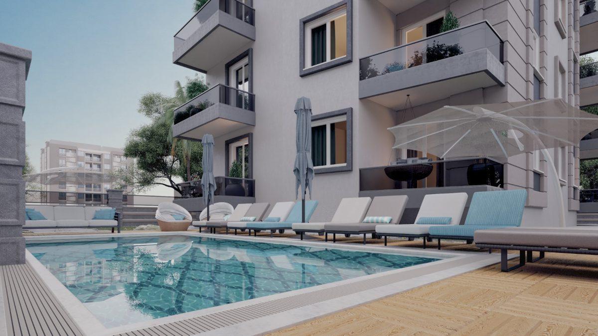 Апартаменты в новом комплексе в центре Махмутлара - Фото 5