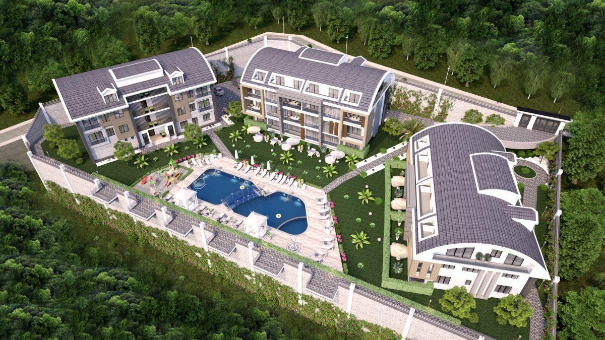 Апартаменты премиального класса  с панорамным видом в центре Алании - Фото 5