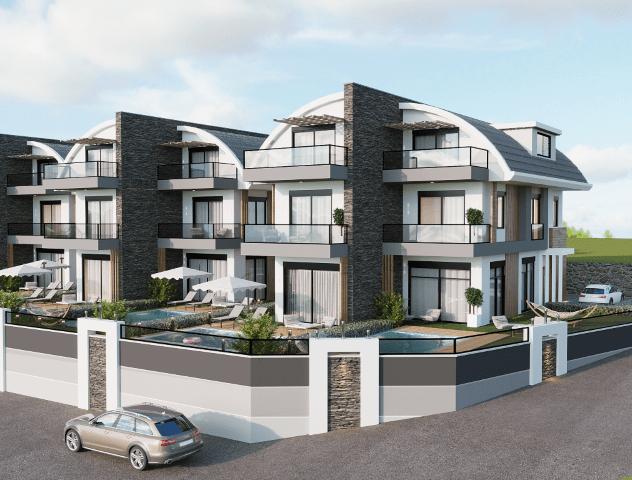 Новый комплекс вилл в Авсалларе - Фото 4