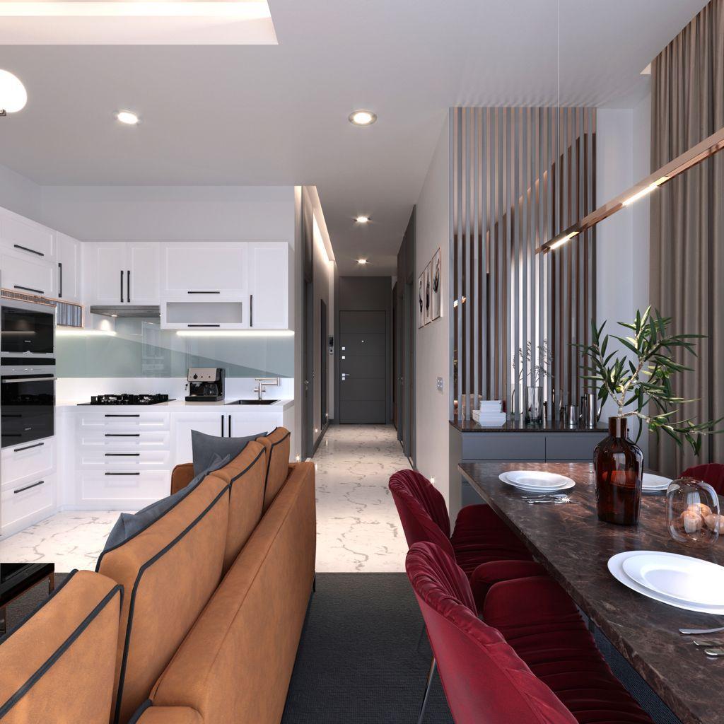 Квартиры с панорамным видом в Авсалларе - Фото 18