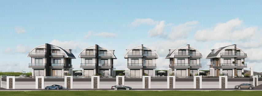 Новый комплекс вилл в Авсалларе - Фото 6