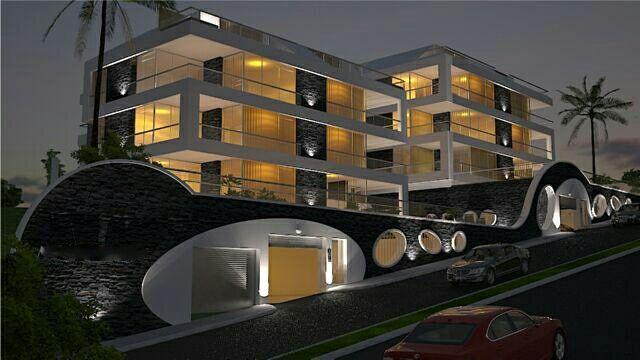 Апартаменты 2+1 с панорамным видом на Аланию - Фото 10