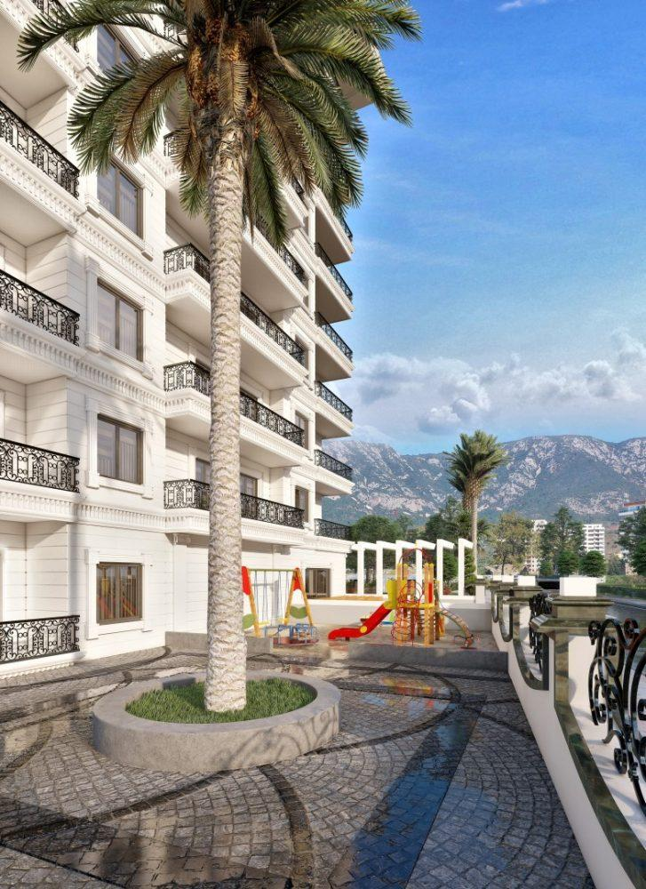 Апартаменты в новом ЖК в Махмутларе в 800 метрах от пляжа - Фото 8