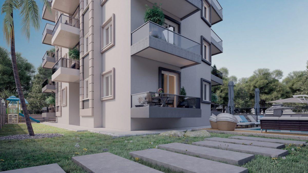 Апартаменты в новом комплексе в центре Махмутлара - Фото 6