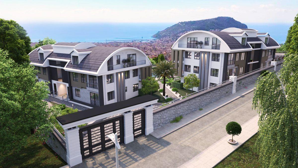 Апартаменты премиального класса  с панорамным видом в центре Алании - Фото 6